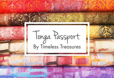 Tonga Passport by Timeless Treasures