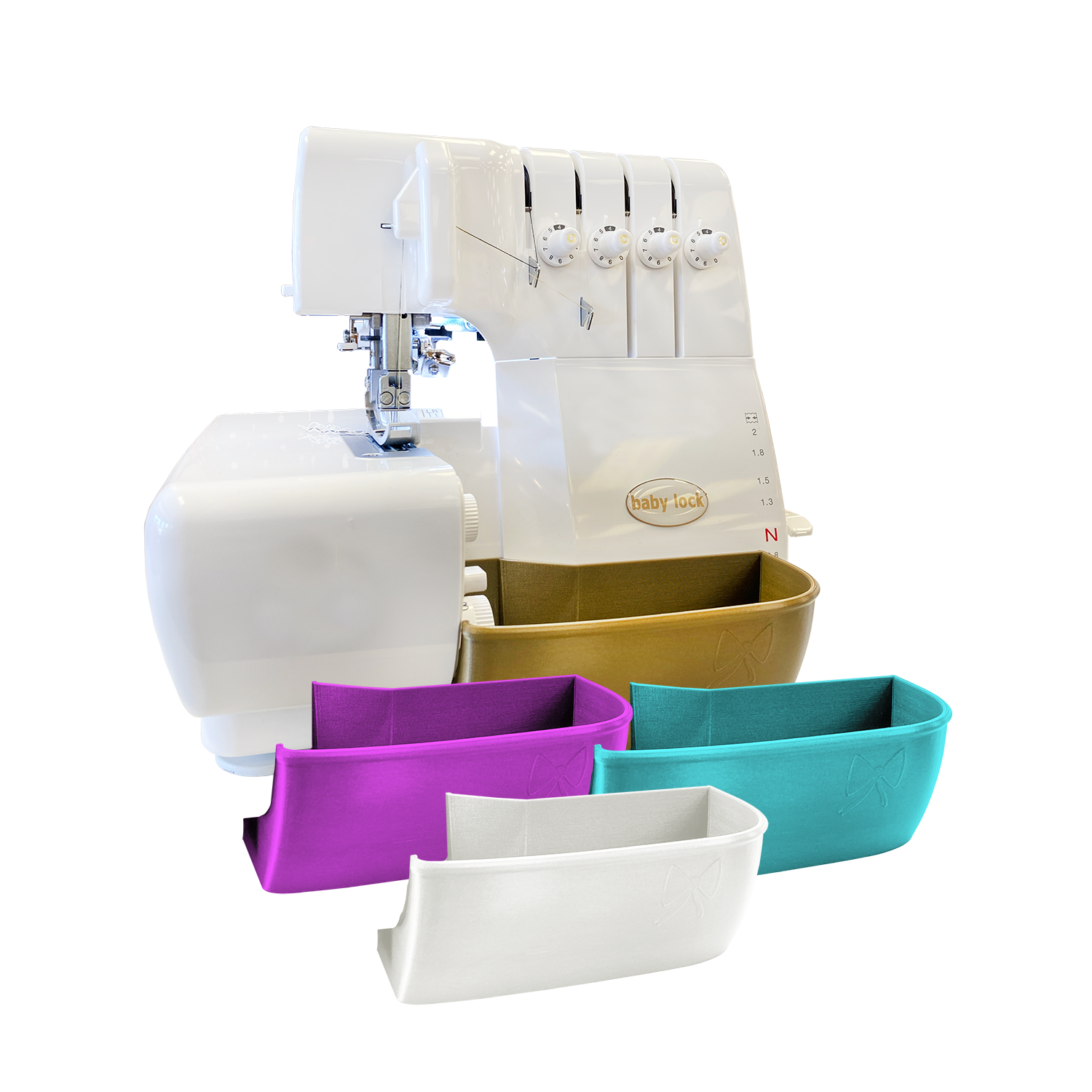 Serger Trim Bin for Baby Lock