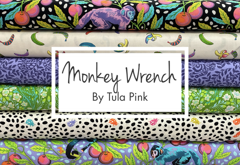 Monkey Wrench by Tula Pink