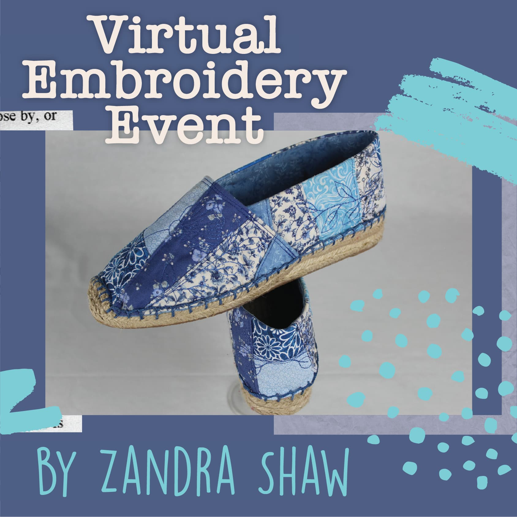 Sew My Soles - Virtual Hands-On Event from Embroidershoppe