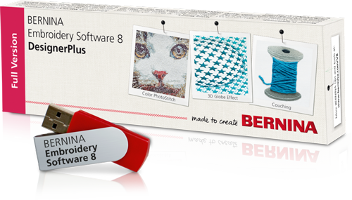 BERNINA Embroidery Software Version 8