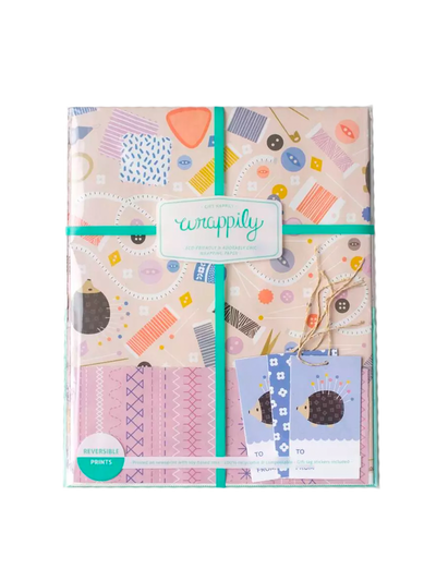 Sewing Gift Wrap Set