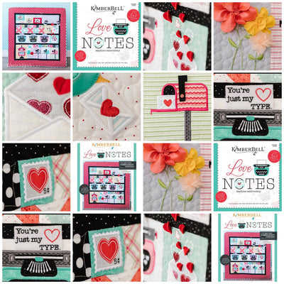 Kimberbell Love Notes - Quilt Kit