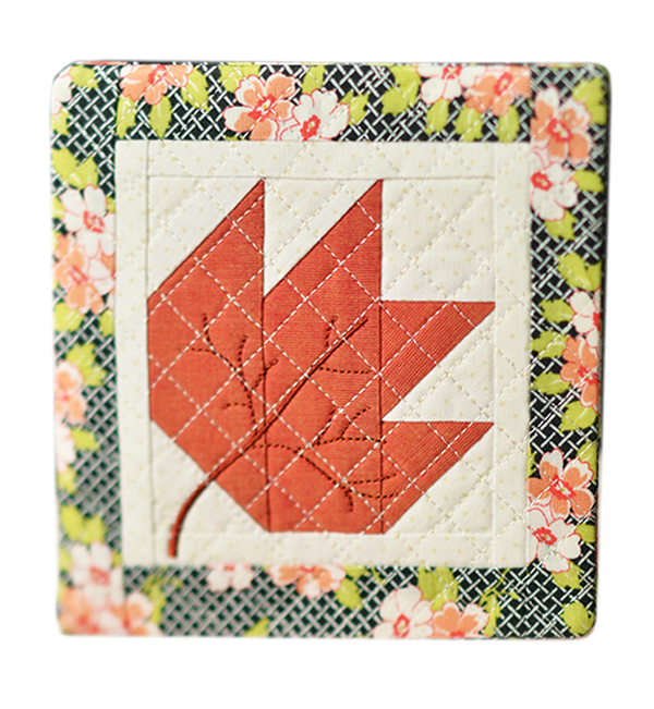 Kimberbell Exclusives: Quilted Leaf Trivet