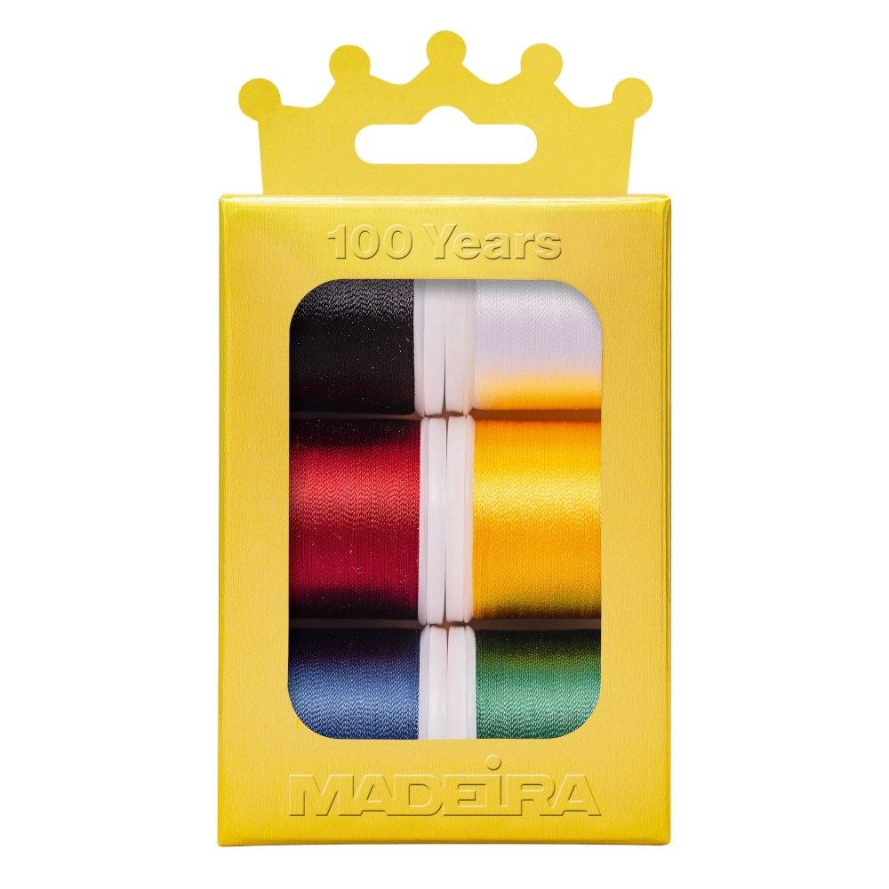 Madeira Anniversary Crown Rayon Thread Kit