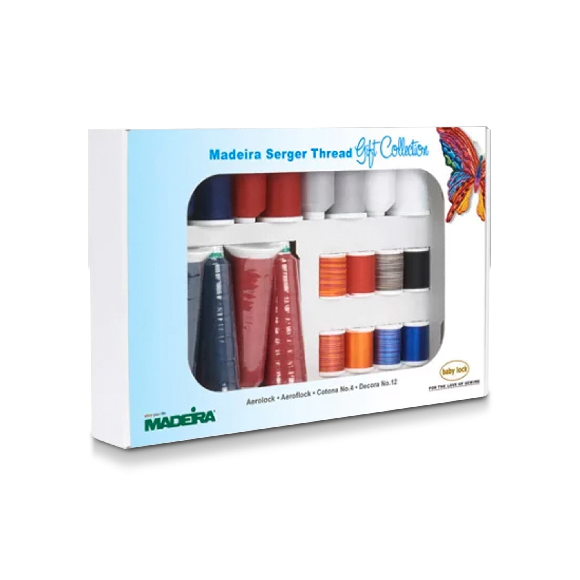 Madeira Serger Thread Kit