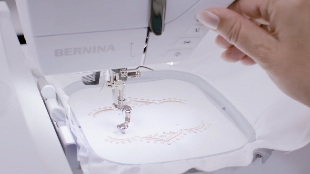 BERNINA Creative Studio: Pinpoint Placement
