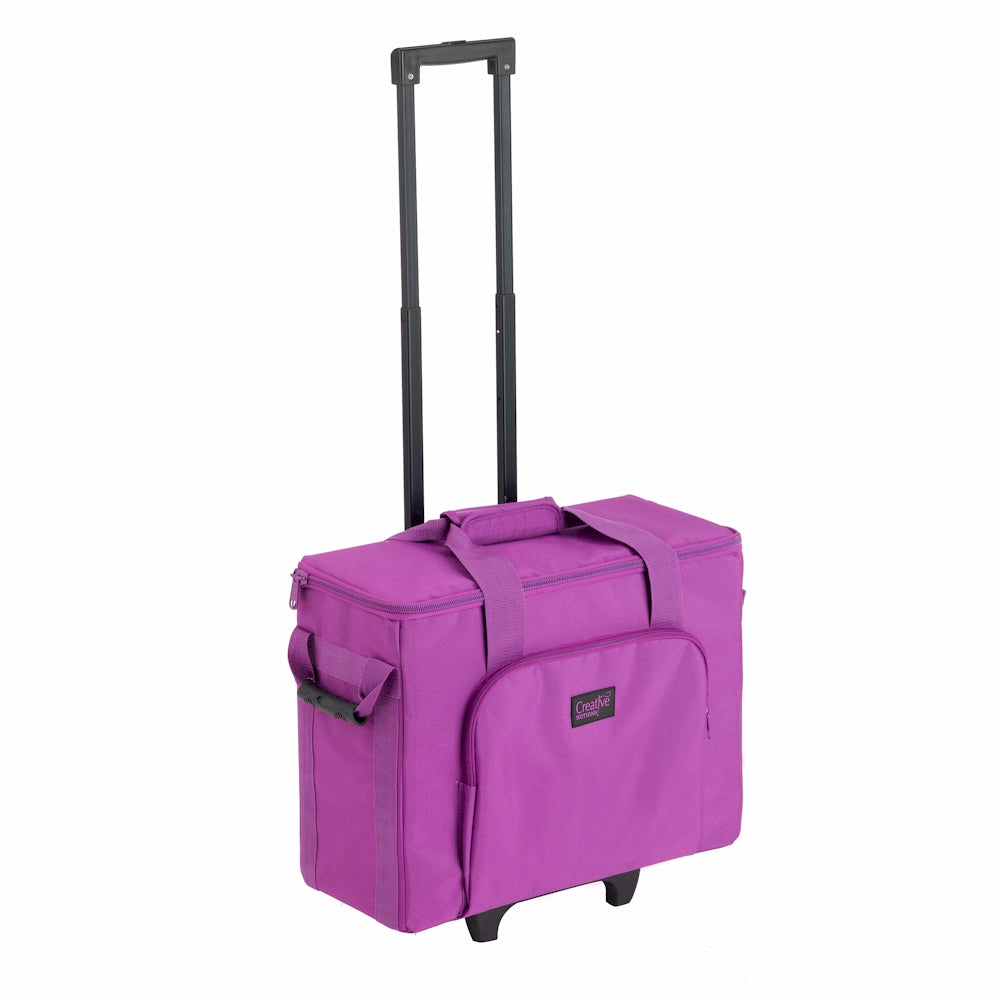 Creative Notions Sewing Machine Trolley - PURPLE