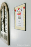 Kimberbell Exclusives: Heart & Home Door Decor