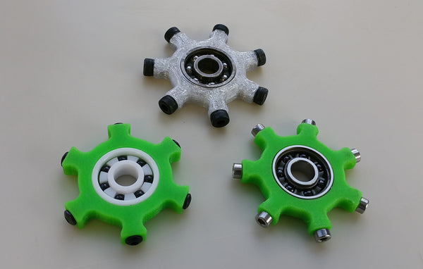 FloBeez Massaging Spinner - TPU - Screwless Sharktooth