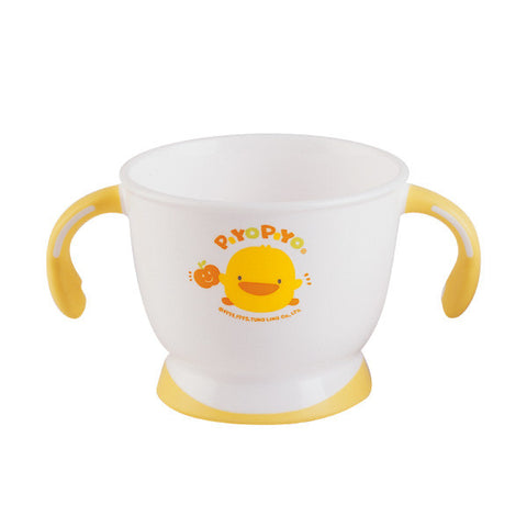 Double Handled Slip-Proof Mug - Piyopiyo Canada