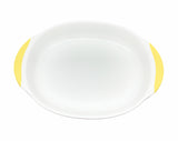 Two Handled Anti-Slip Dining Plate - Piyopiyo Canada