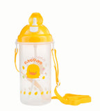 Water Bottle w/ Pop Up Lid 600cc - Piyopiyo Canada