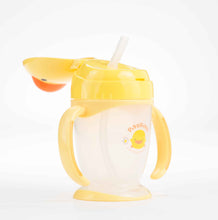Load image into Gallery viewer, Training Cup (Straw Style Lid) - Piyopiyo Canada