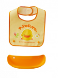 Waterproof Bib with Detachable Pocket - Piyopiyo Canada