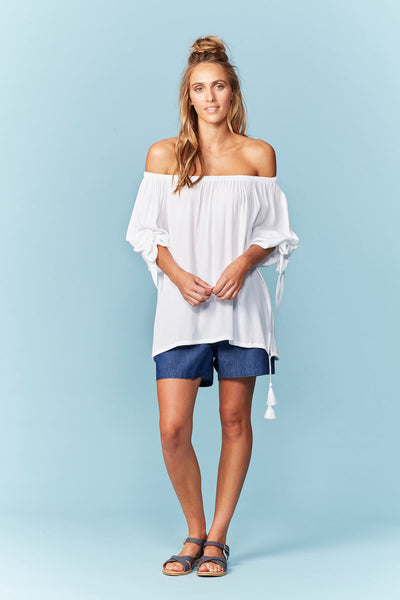 isle of mine  LAKOTA OFF SHOULDER  navajo - the clothing edit