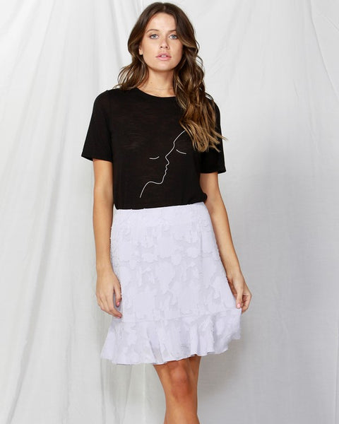 fate + becker  BETTER TOGETHER TEE  black - the clothing edit