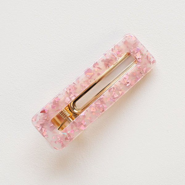 tce  PRETTY IN PINK HAIR CLIP SET - the clothing edit