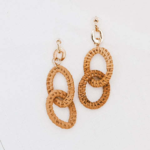 sable and dixie  ELKE LINKS earrings - the clothing edit