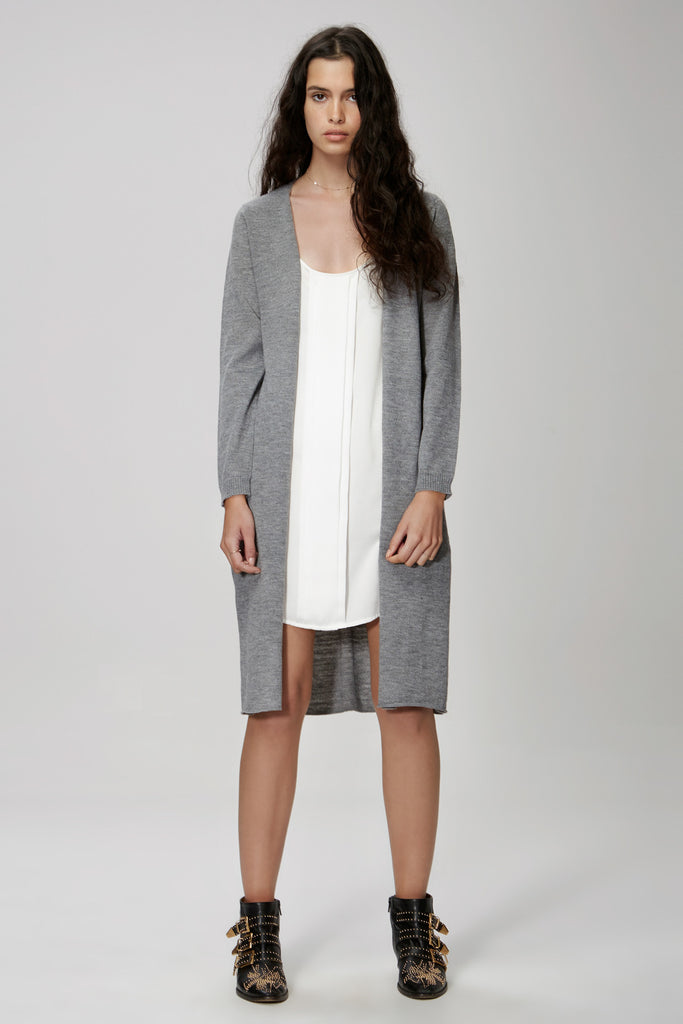 The Fifth Label FAR AWAY CARDIGAN  grey marle - the clothing edit