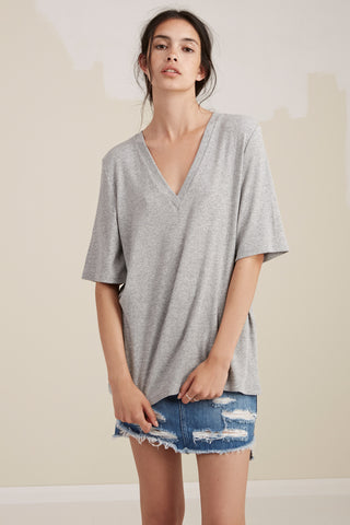 The Fifth Label TAKE TWO T-SHIRT  grey marle - the clothing edit