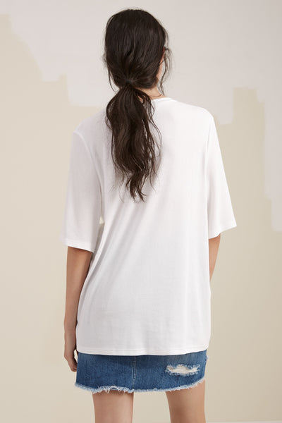 The Fifth Label TAKE TWO T-SHIRT  white - the clothing edit