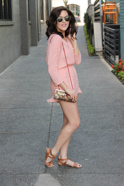 Rose Quartz Romper