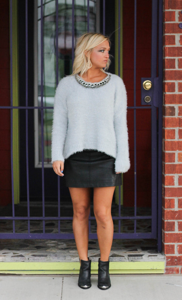 Serenity Embellished Sweater