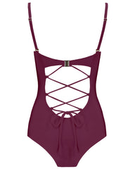 The 9.2.9 Swimsuit - Plum