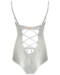 The 9.2.9 Swimsuit - Silver Shimmer
