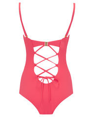 The 9.2.9 Swimsuit - Coral Rose