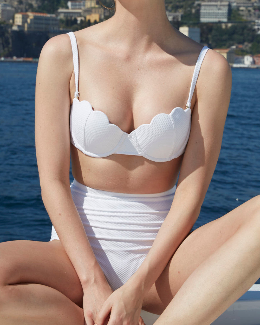 The Contour Bra Set - Ivory (In Store ~ Harrods)