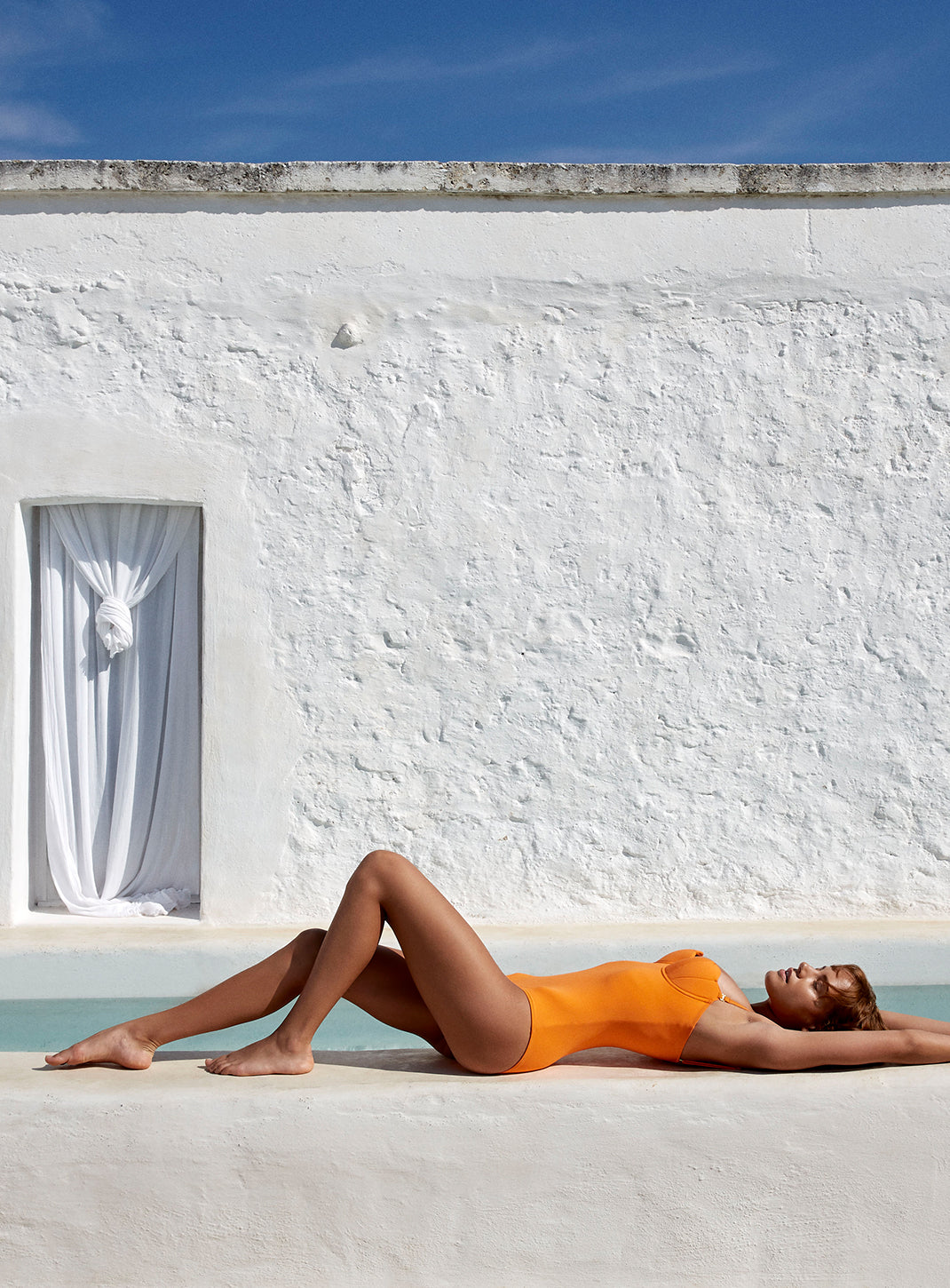 The Contour Swimsuit - Mandarin