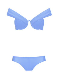 The Bardot Bustier Set - Hyacinth (In Store ~ Harrods)