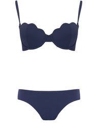 The Contour Bra Set - Berry Luxe (In Store ~ Harrods)