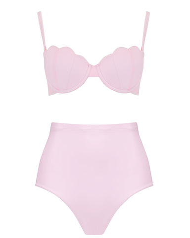 The Contour Bra Set - Bonbon Pink
