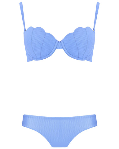 The Contour Bra Set - Hyacinth
