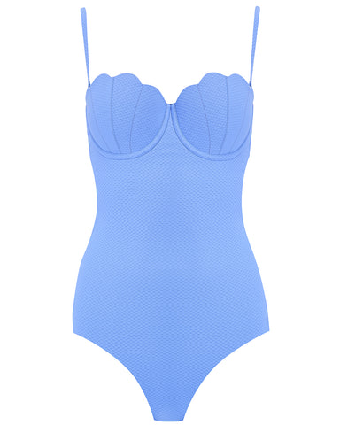 The Contour Swimsuit - Hyacinth