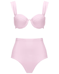 The Modern Bustier Set - Bonbon Pink (In Store ~ Harrods)