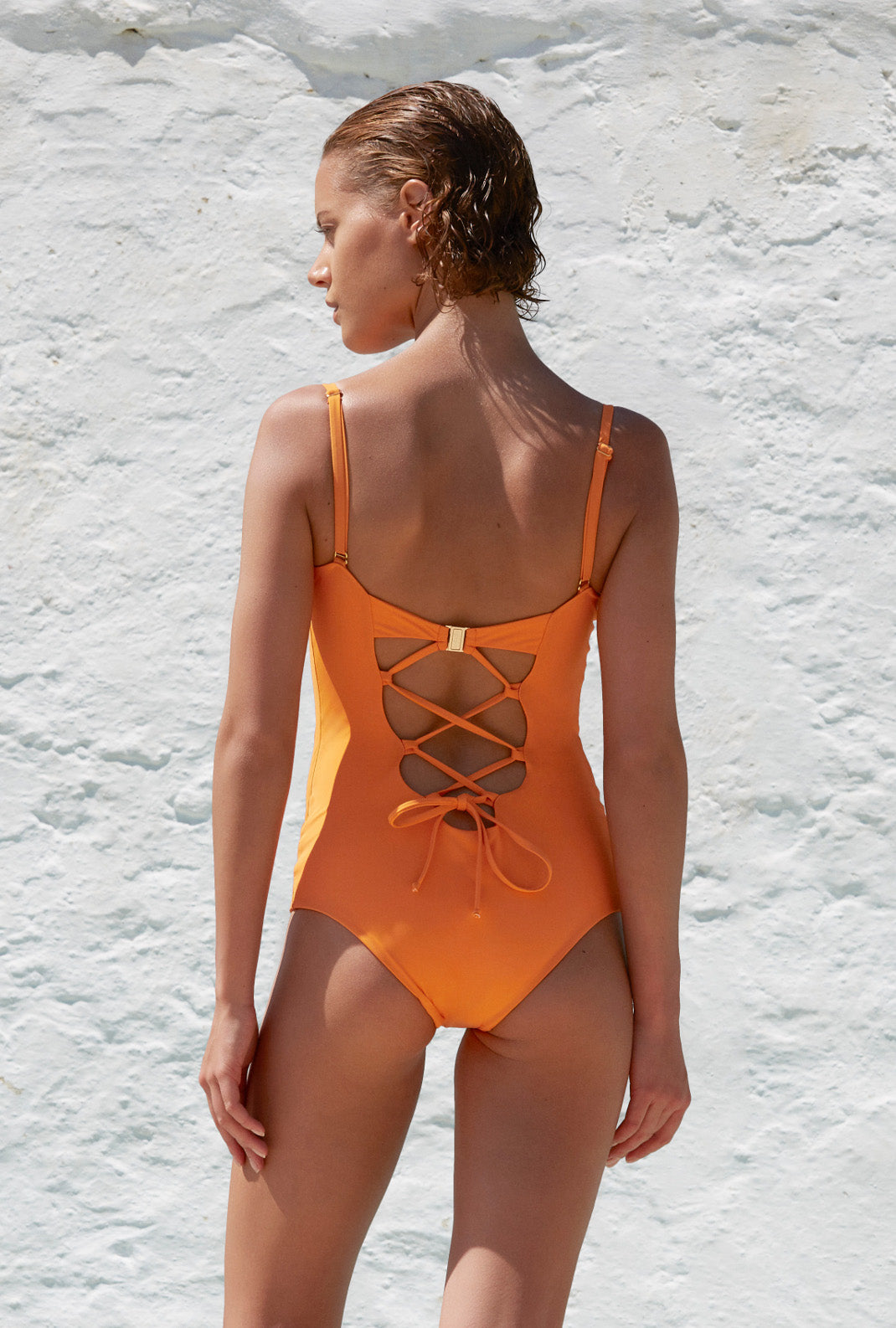 The 9.2.9 Swimsuit - Mandarin
