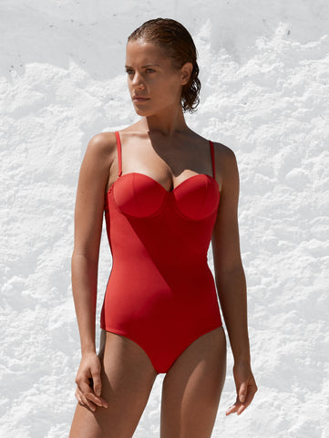 The 9.2.9 Swimsuit - Cherry Luxe