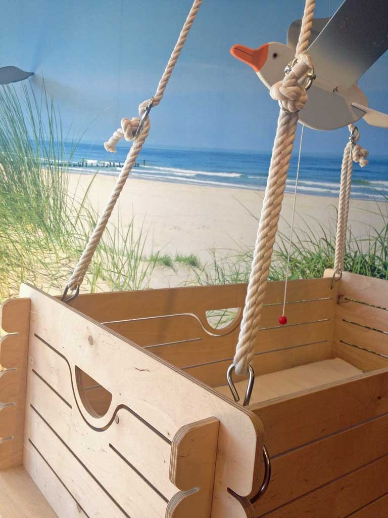 Awesome Suspended Wooden Baby Crib Hussh Cradles