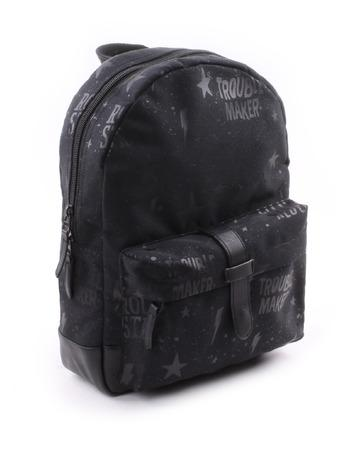 Kidzroom - Totally Black Little Rebel Backpack Big