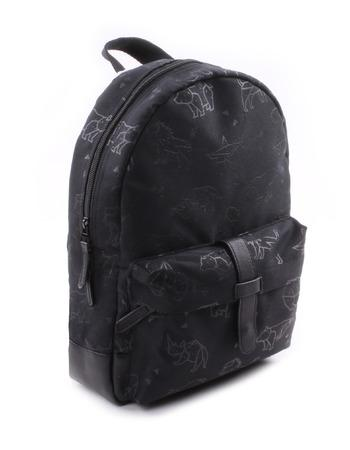 Kidzroom - Totally Black Animals Backpack