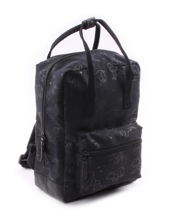Kidzroom - Totally Black Animals rectangle Backpack