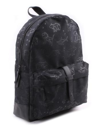 Kidzroom - Totally Black Animals Backpack Big