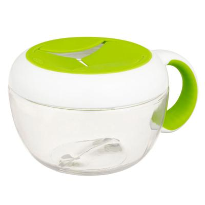 Oxo Tot - Flippy Snack Cup Green
