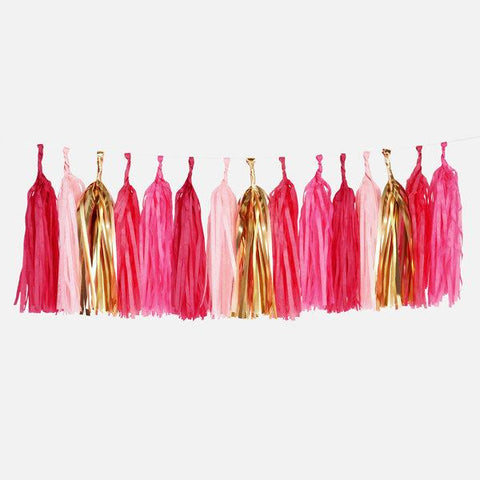 My Little Day - Garland Tassel Pink