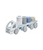 Kids Concept - Stacking Ring Truck Blue
