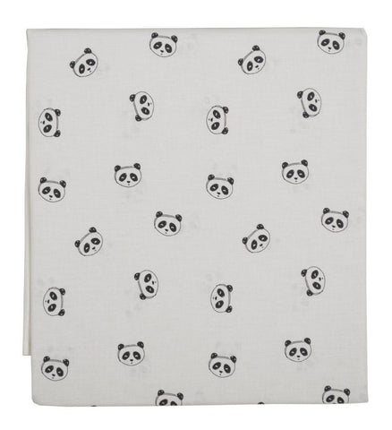 Plum Plum - Crib Sheet Panda
